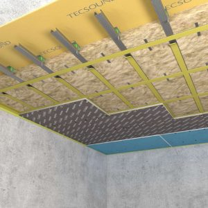 Каркасная система звукоизоляции потолка «Премиум М1»