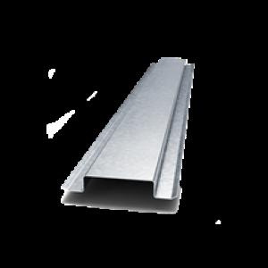 Омега-профиль,сталь 0,7мм, 85х25мм, длина 3м
